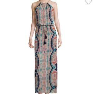 NWT Bisou Bisou Michele Bohbot long dress size 4